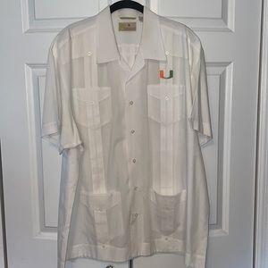 Cubavera University of Miami shirt
